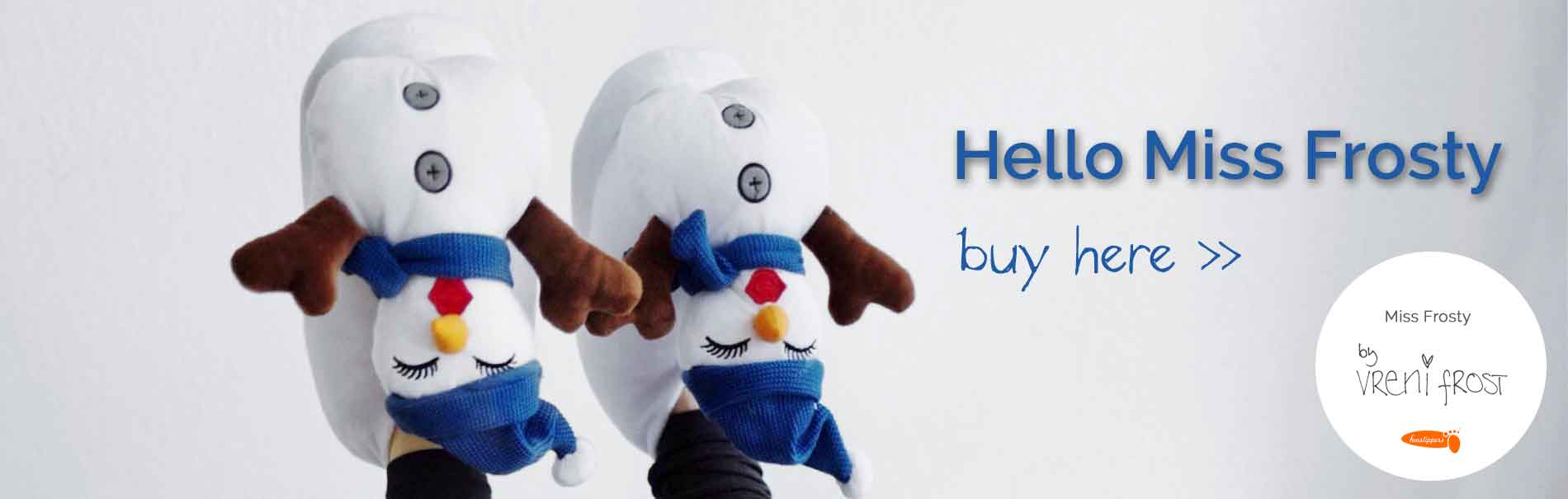 buy warm snowman slippers