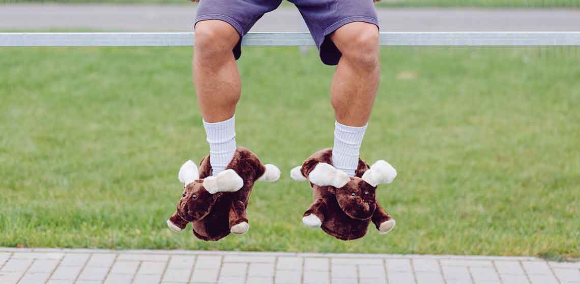 moose slippers HAKON