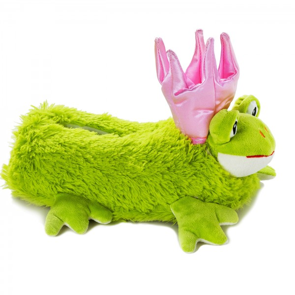 Funny Plush Slippers Frog Princess