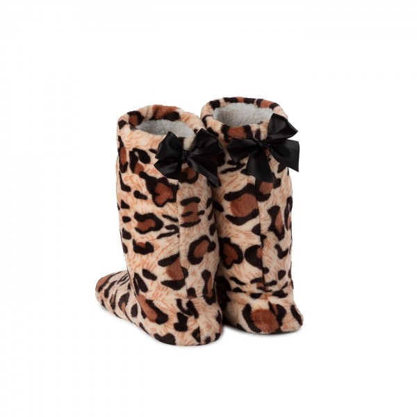 Paw Slippers plus Plush Boots
