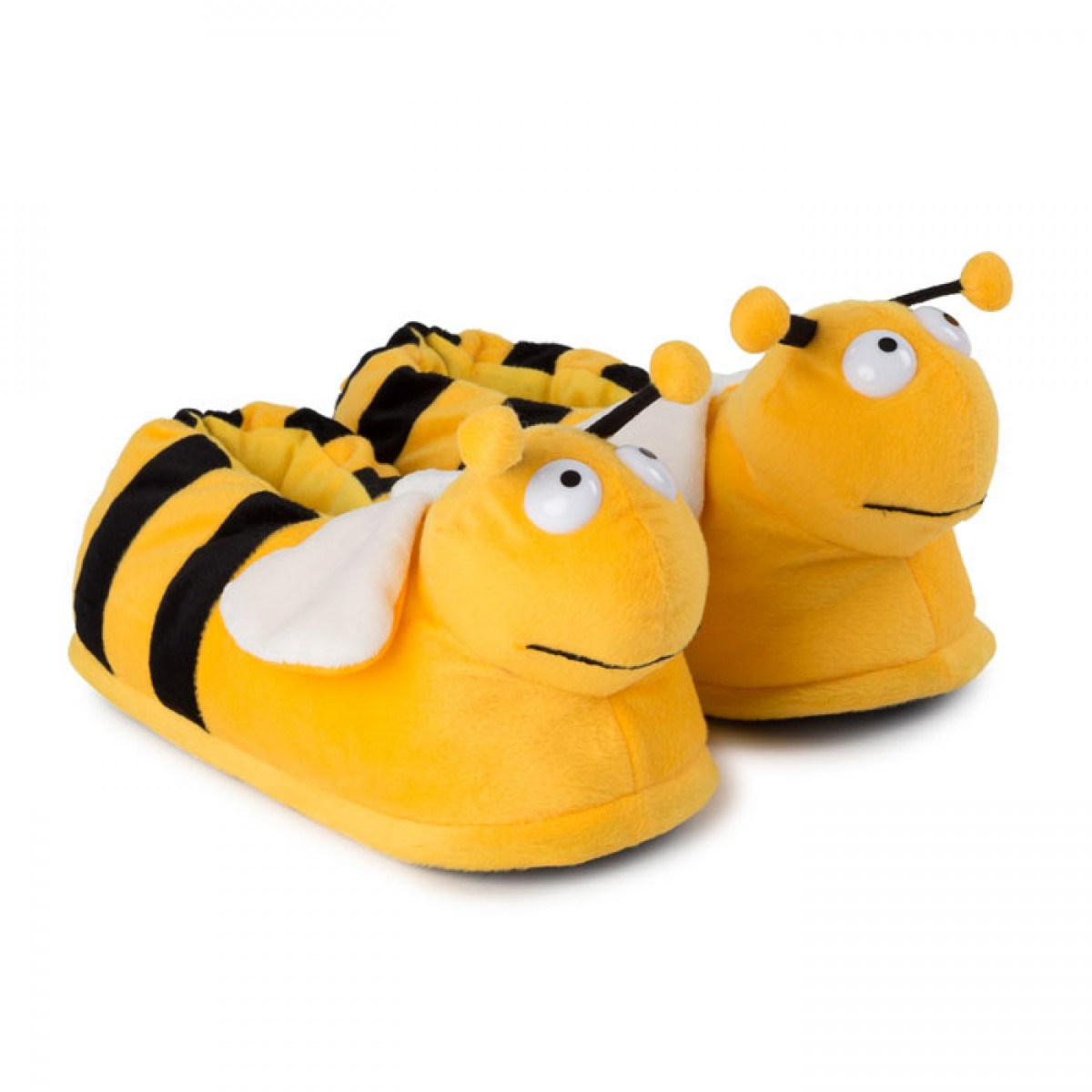 Plush Slippers Bee for halloween or carnival