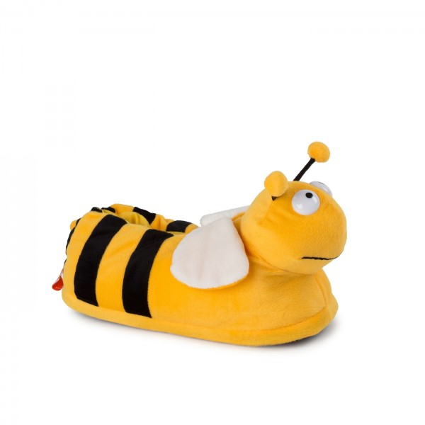 Funny Plush Slippers Bee
