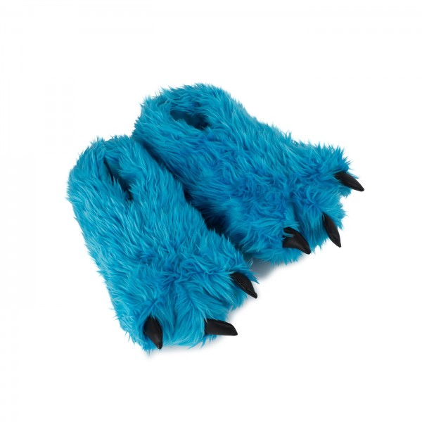 Plush Paw Slippers halloween or carnival