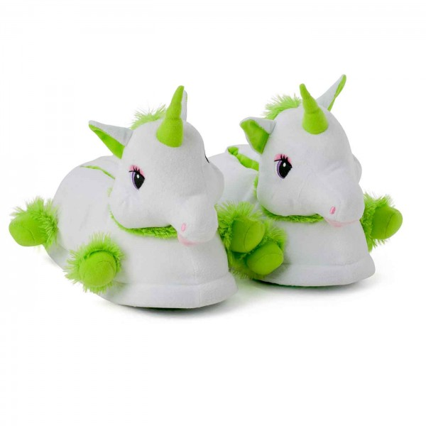 Unicorn slippers and onesie package