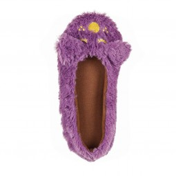 Ballerina Slippers Purple Dog