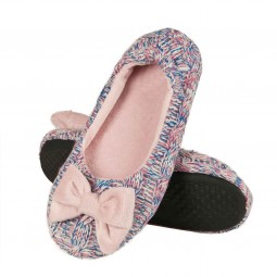 Ballerina Slippers knitted pink
