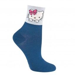 Hello Kitty Socks blue