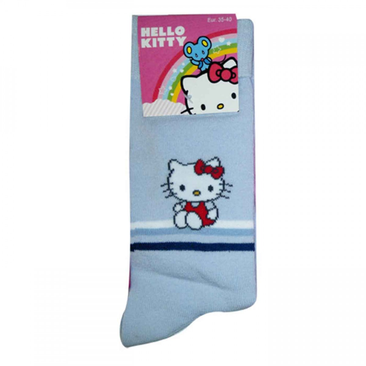 Hello Kitty Socks lightblue