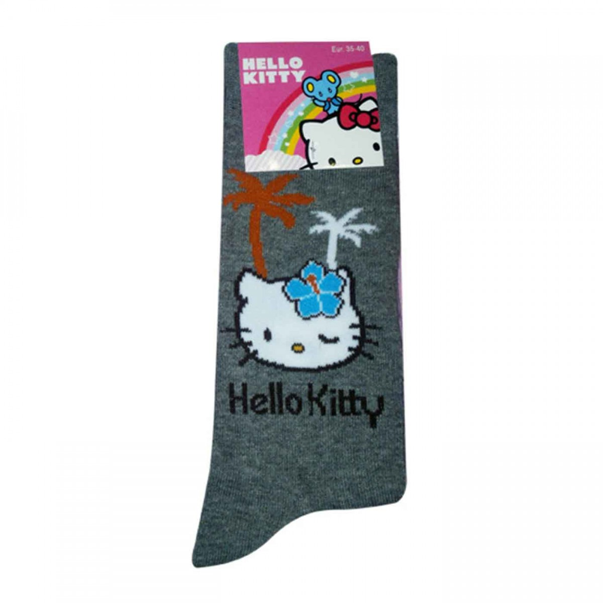 Hello Kitty Socks grey