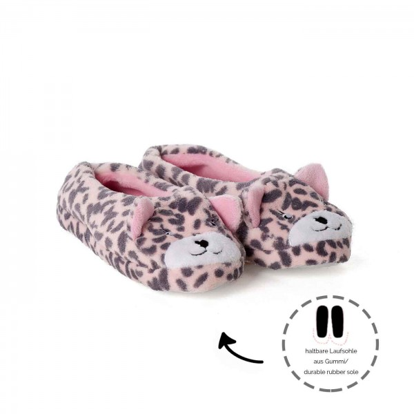 Ballerina Slippers Pink Bear