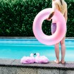 Funny Flamingo Plush Slippers for two