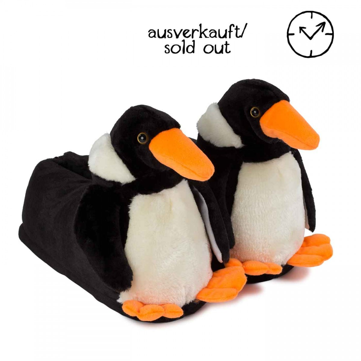 Funny Party Slippers Penguin