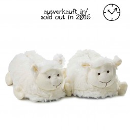 Plush Slippers White Sheep