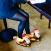 Funny Turkey Plush Slippers for two